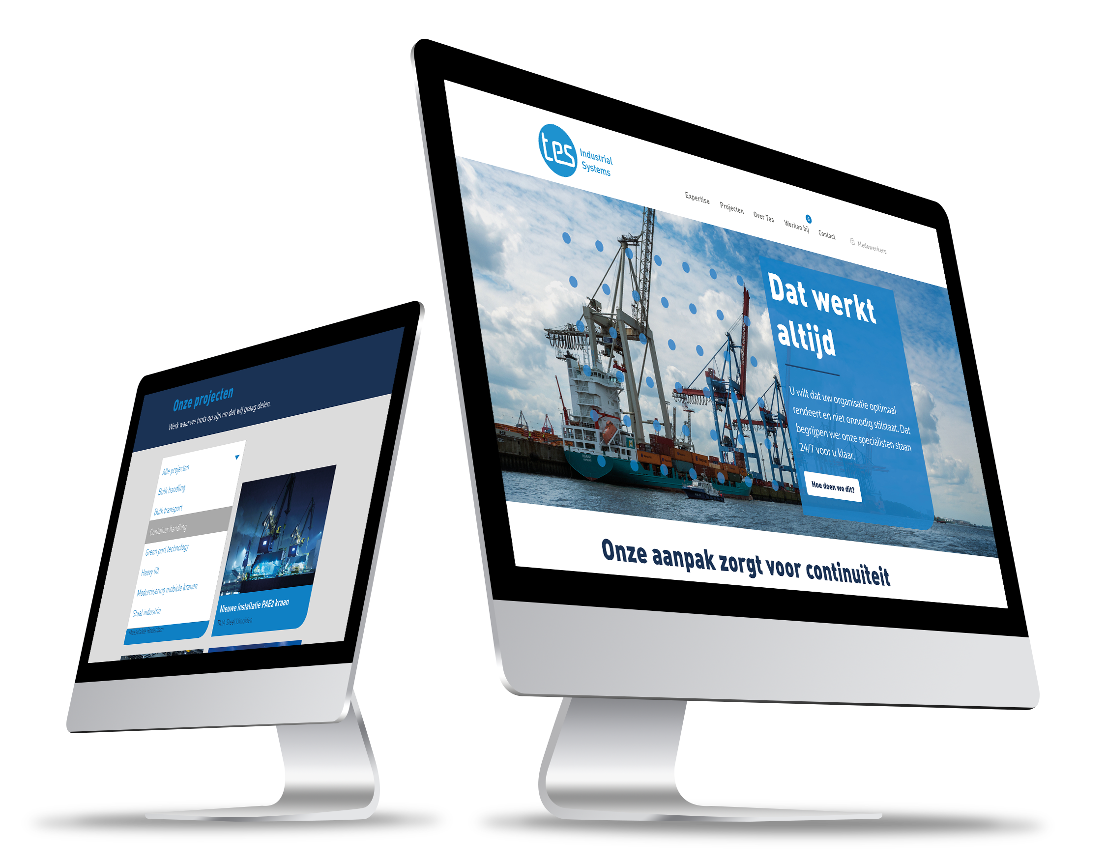 TES Industrial Services corporate website